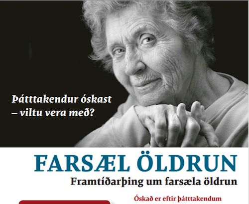 Þátttakendur óskast á Framtíðarþing um farsæla öldrun