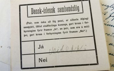 Lífsblómið − Fullveldi Íslands í 100 ár