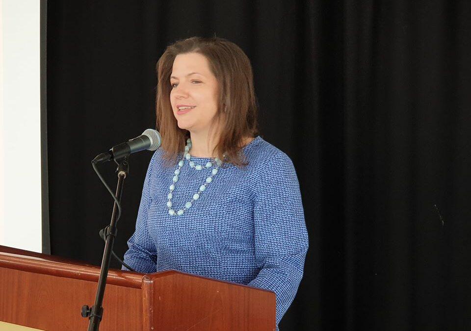 Eliza Reid sló í gegn á Landsfundi LEB 2020