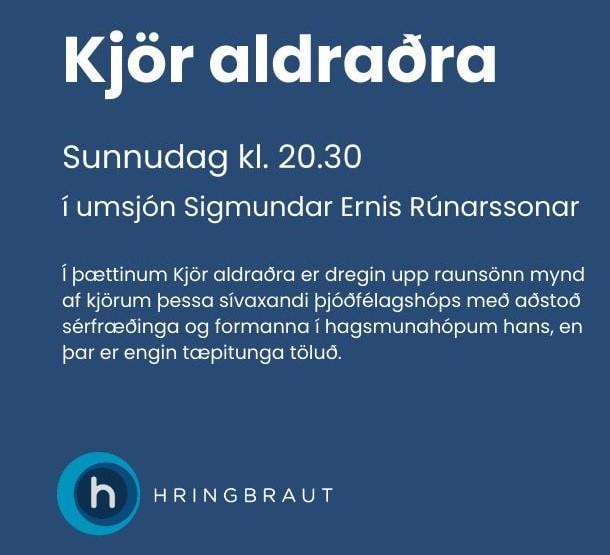 Kjör aldraðra rædd á Hringbraut